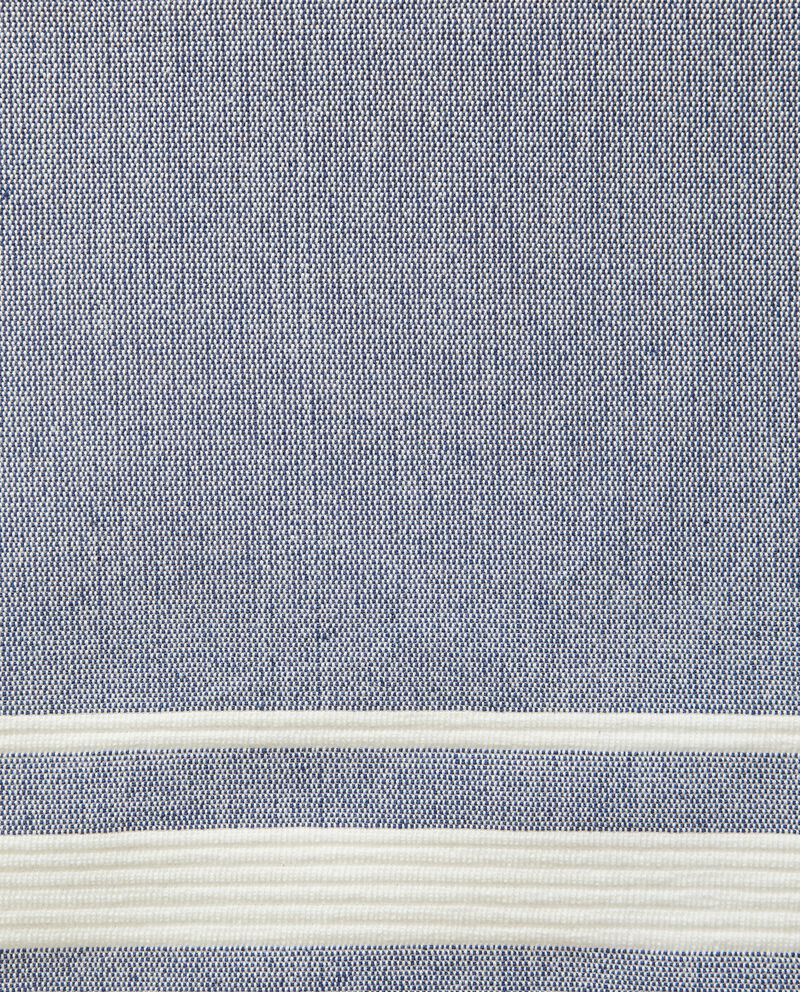 Runner a costine in puro cotone single tile 1
