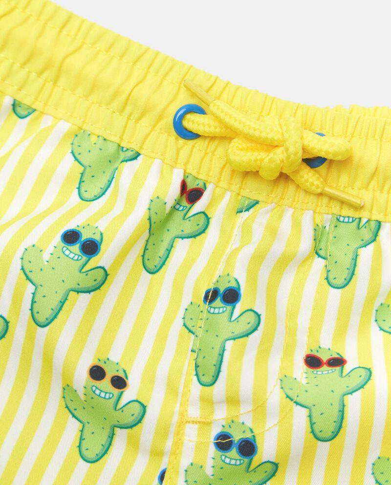 Costume boxer stampa cactus neonato