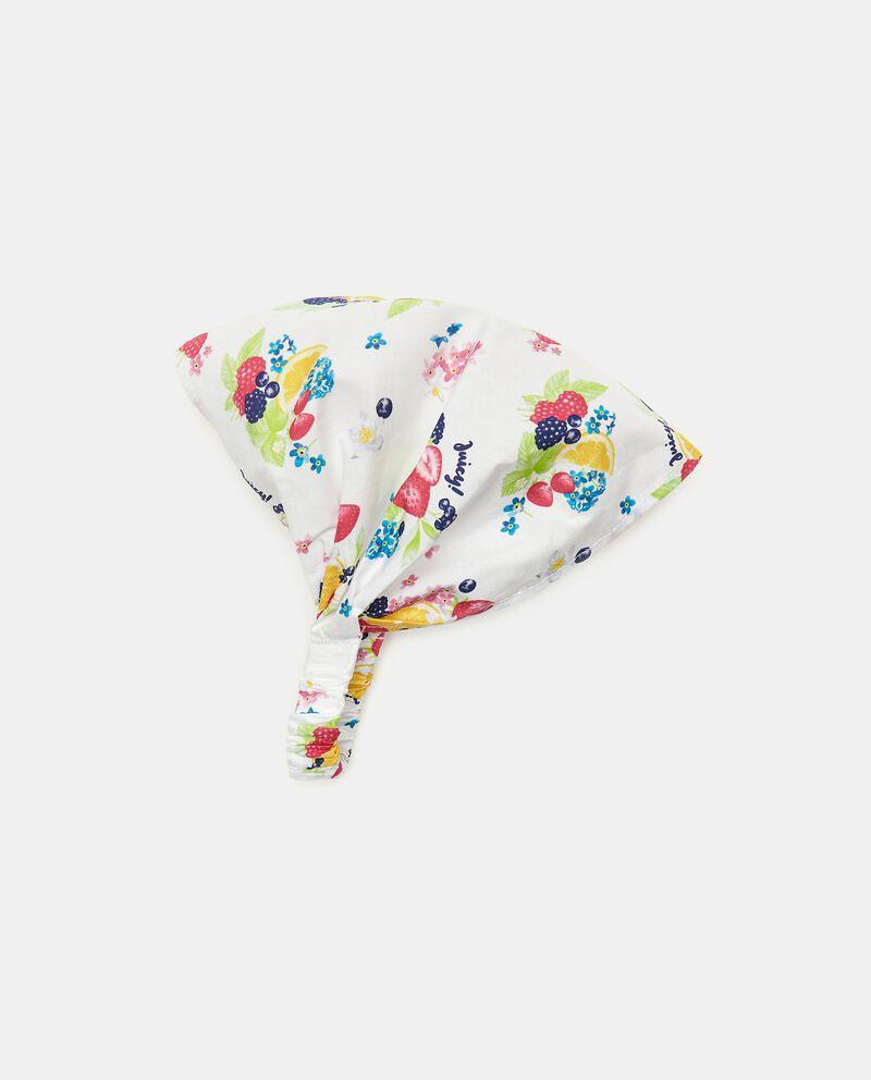 Bandana puro cotone popeline neonata cover