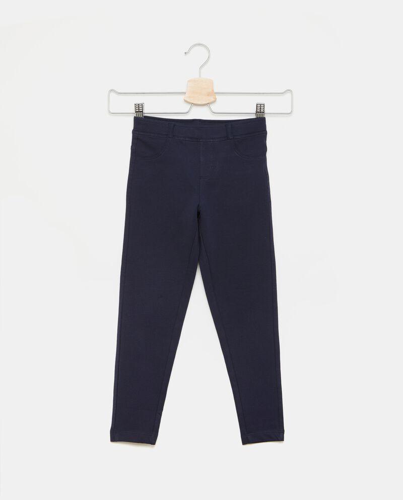 Pantaloni effetto jeans bambina