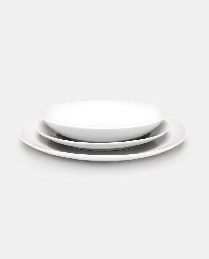 Set 18 piatti in porcellana