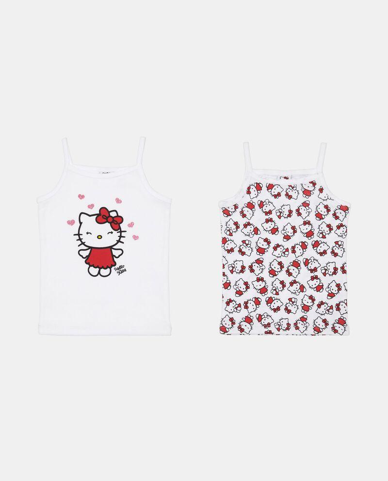 Set due top intimi in cotone Hello Kitty