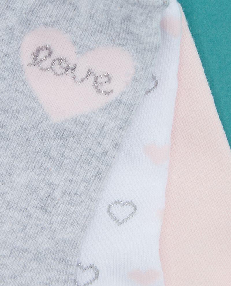 Set calzini lunghi tinta unita e fantasia neonata