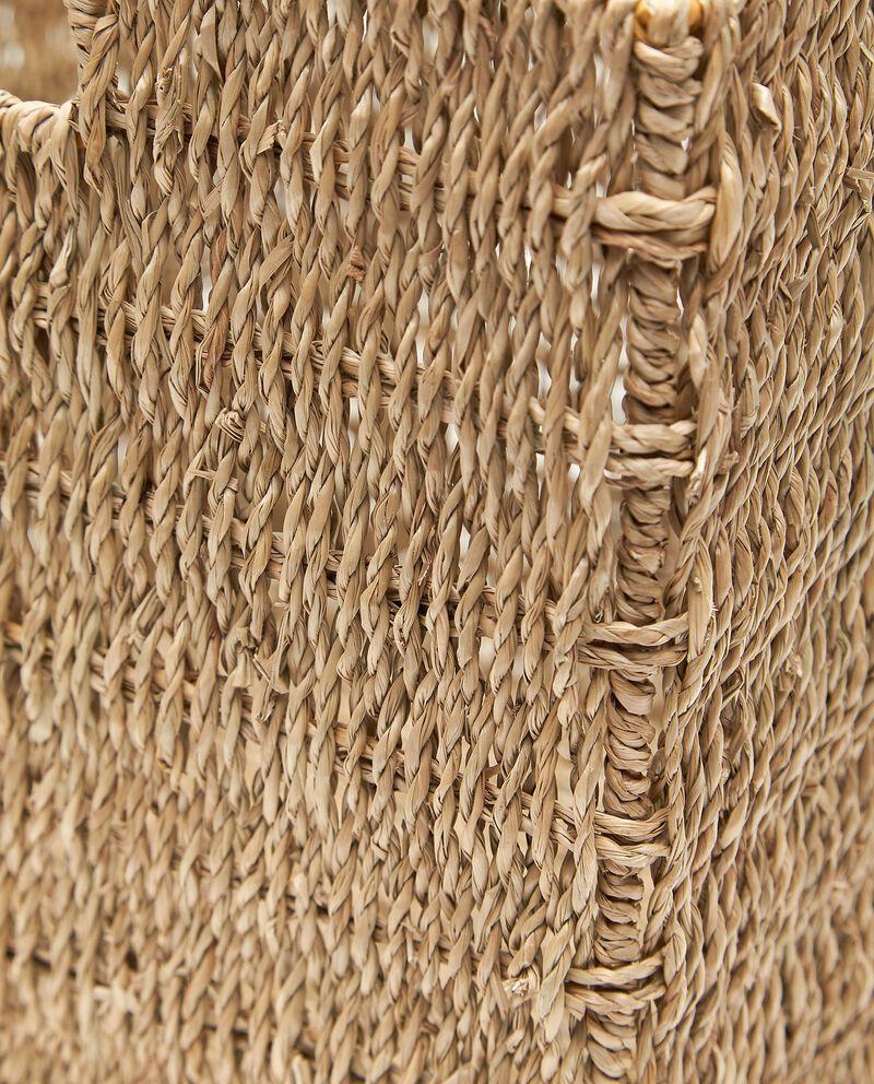 Cesto di fibra naturale vegetale