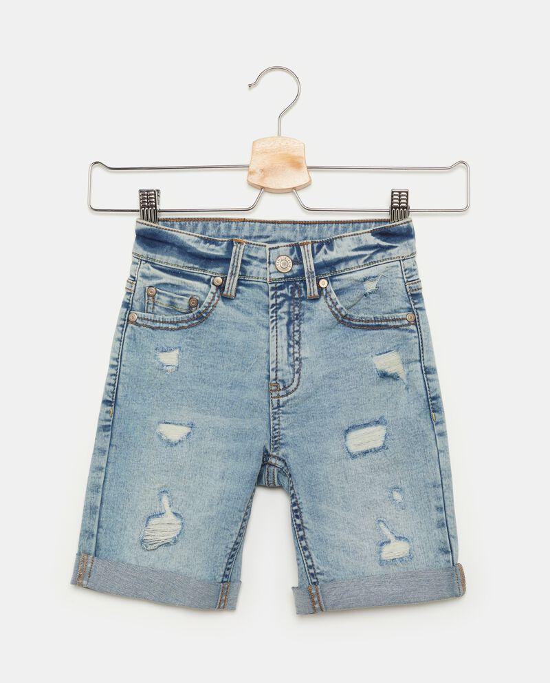Shorts con strappi in jeans bambino cover