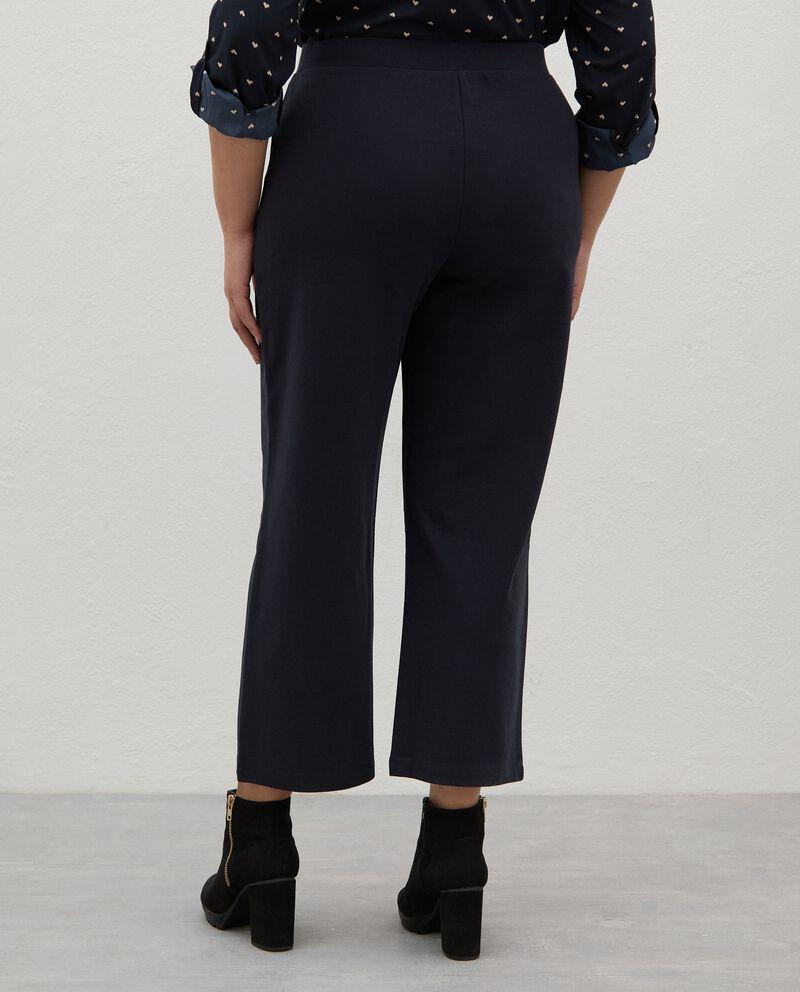Pantaloni in twill di cotone Curvy donna single tile 1