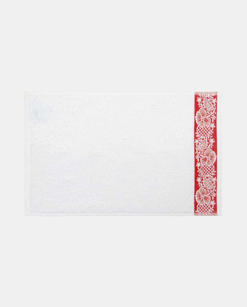 Asciugamano cotone bordo jacquard