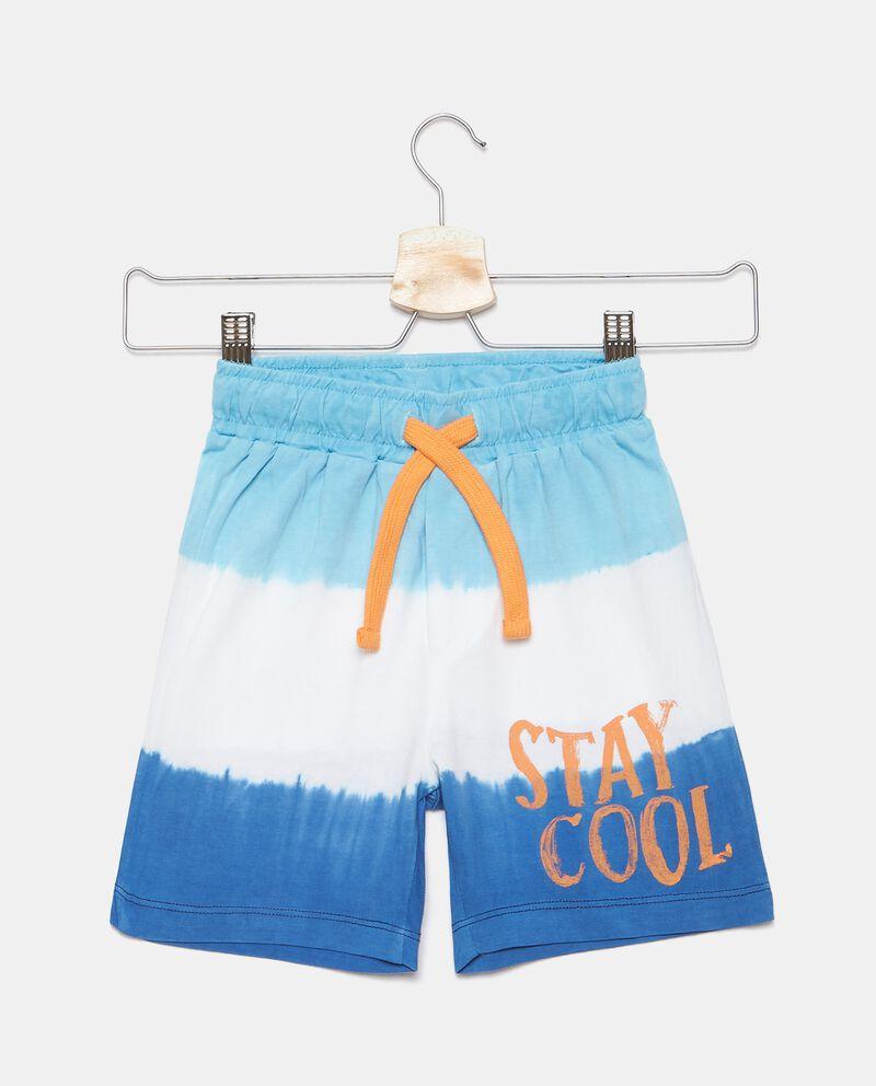 Shorts in puro cotone tie and dye bambino