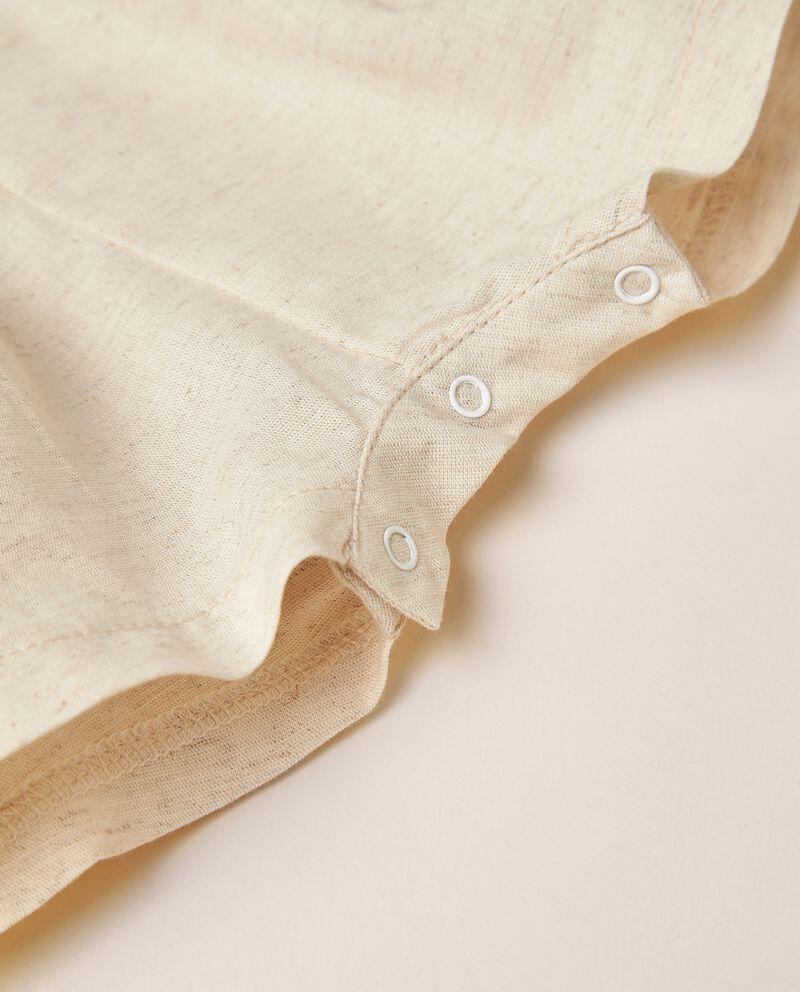 Pagliaccetto di cotone organico stretch MADE IN ITALY