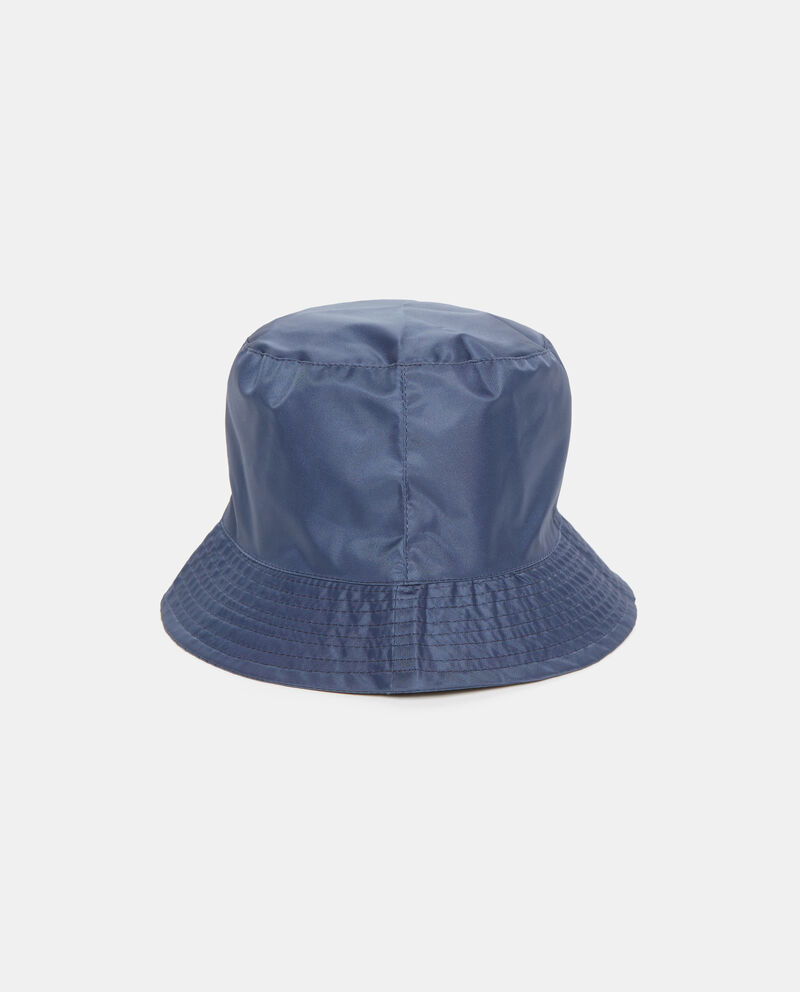 Cappello blu impermeabile donna
