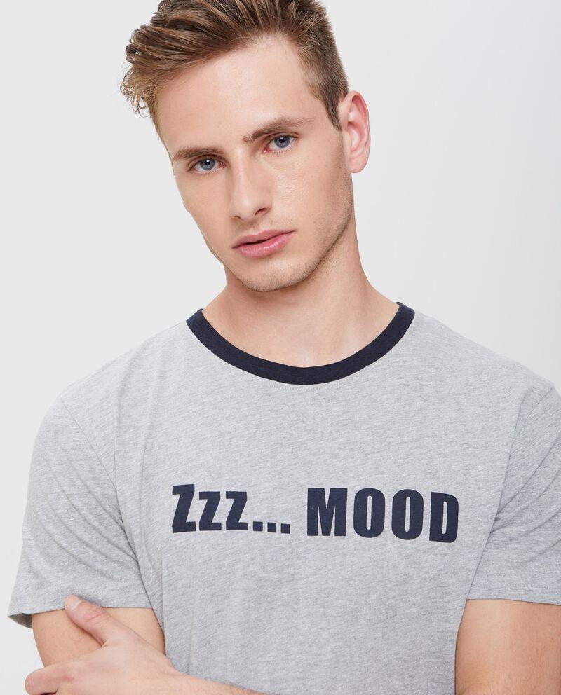 Pigiama t-shirt in puro cotone uomo