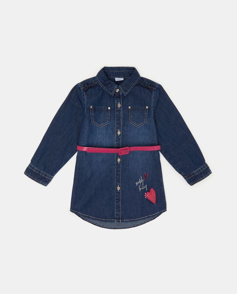 Camicia denim neonata