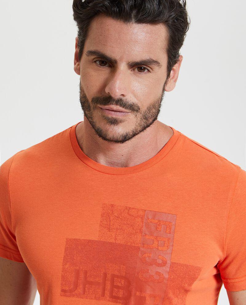 T-shirt in puro cotone fitness uomo