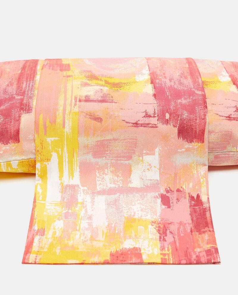 Copripiumino con stampa pittura di puro cotone
