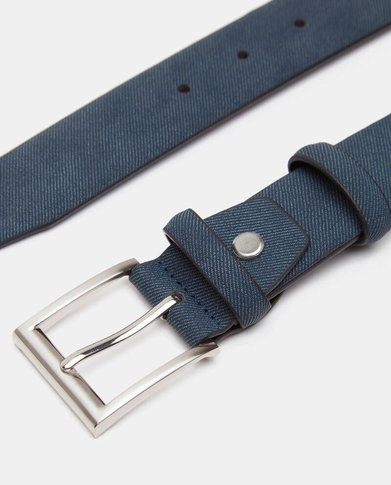 Cintura effetto righine uomo