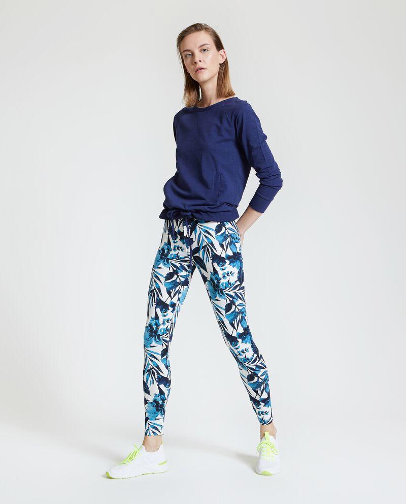 Leggings Fitness in fantasia donna