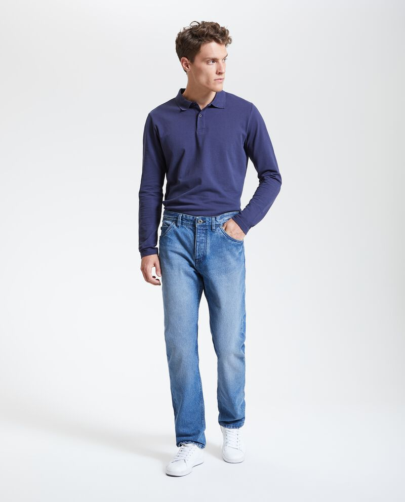 Jeans fit straight uomo