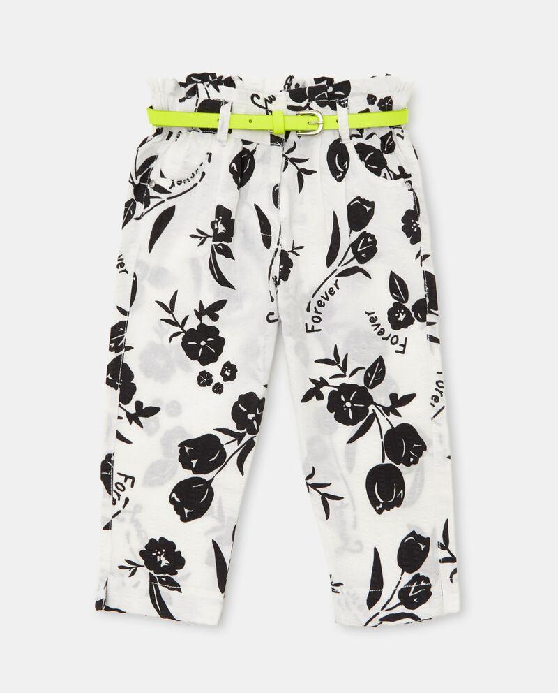 Pantaloni capri in seersucker neonato cover