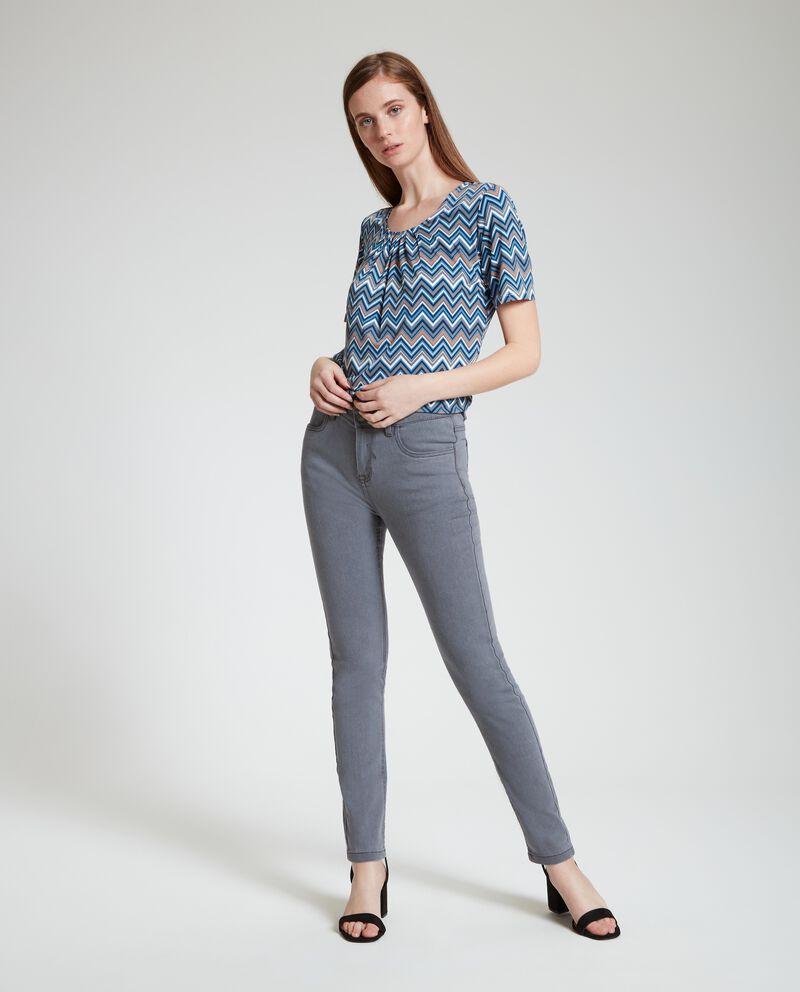Jeans con cinque tasche donna