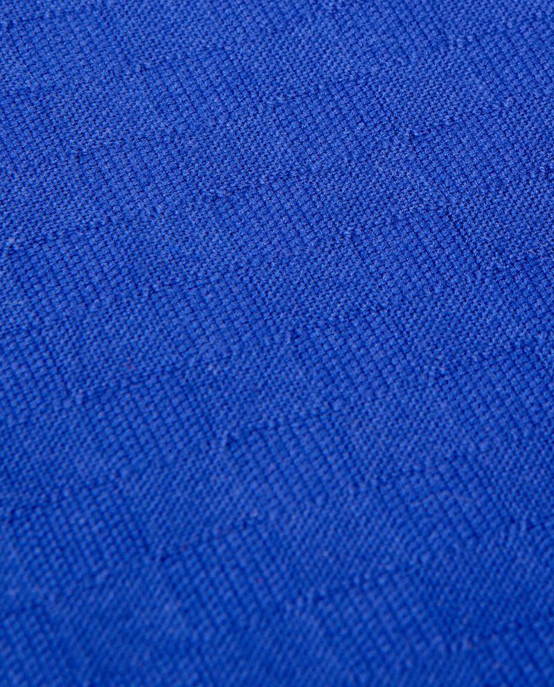 Copriletto blu una piazza in puro cotone