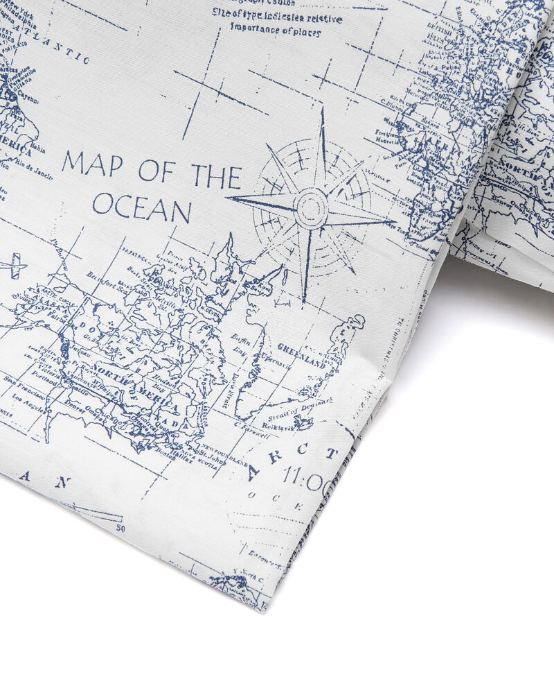 Lenzuolo matrimoniale mappa