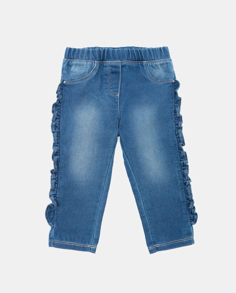 Jeans con ruche neonata