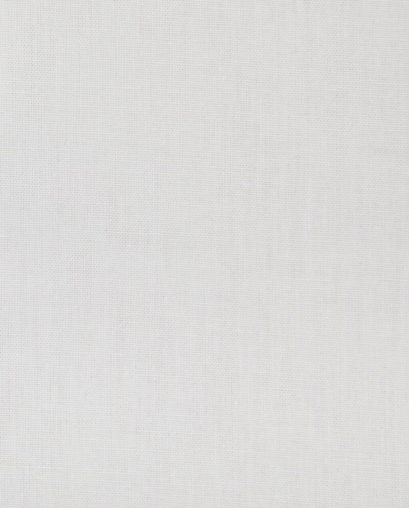 Lenzuola in puro cotone con angoli in tinta unita