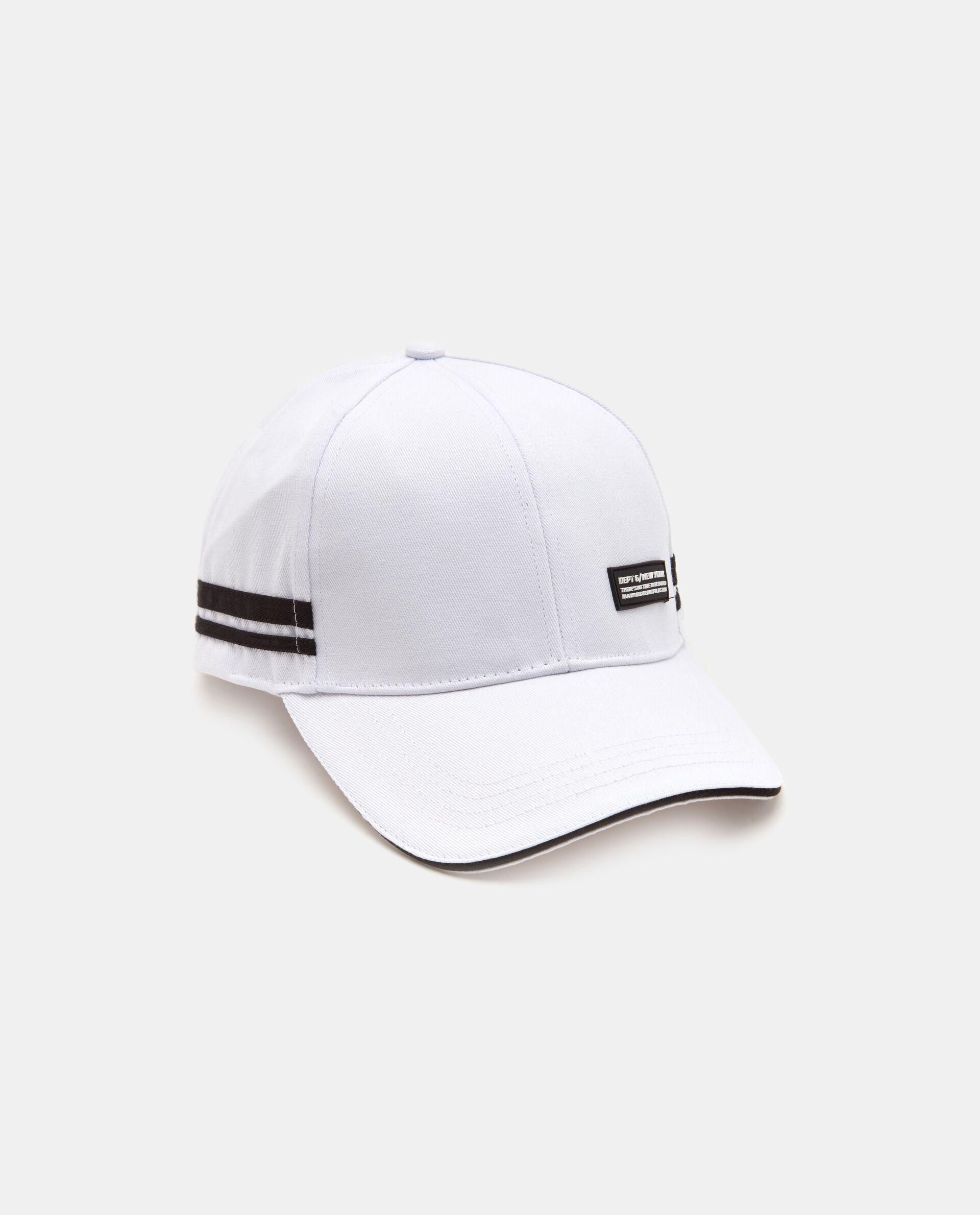 Cappellino baseball in cotone righe uomo