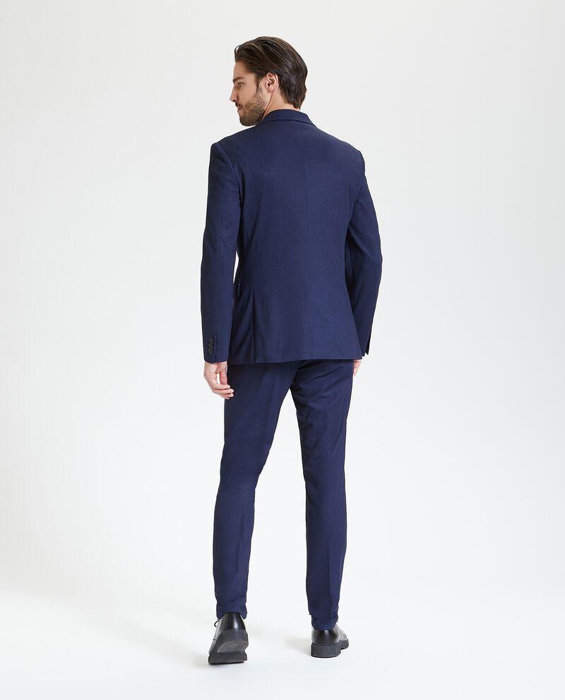 Blazer elegante con motivo principe di galles uomo