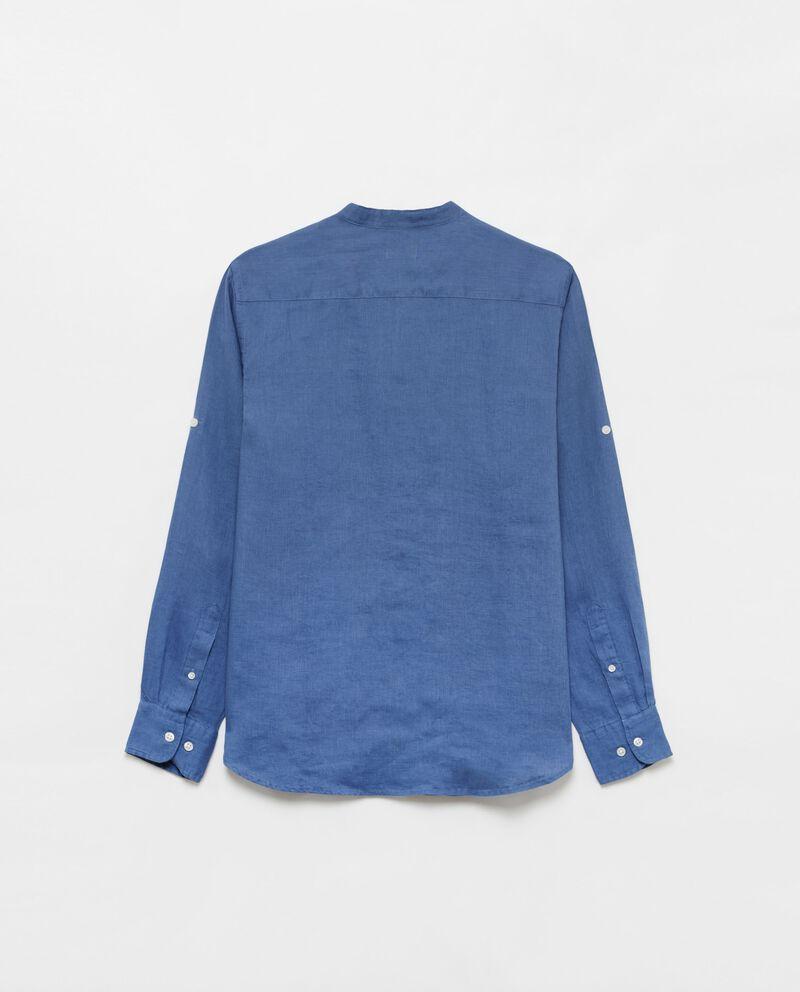 Camicia puro lino con taschino