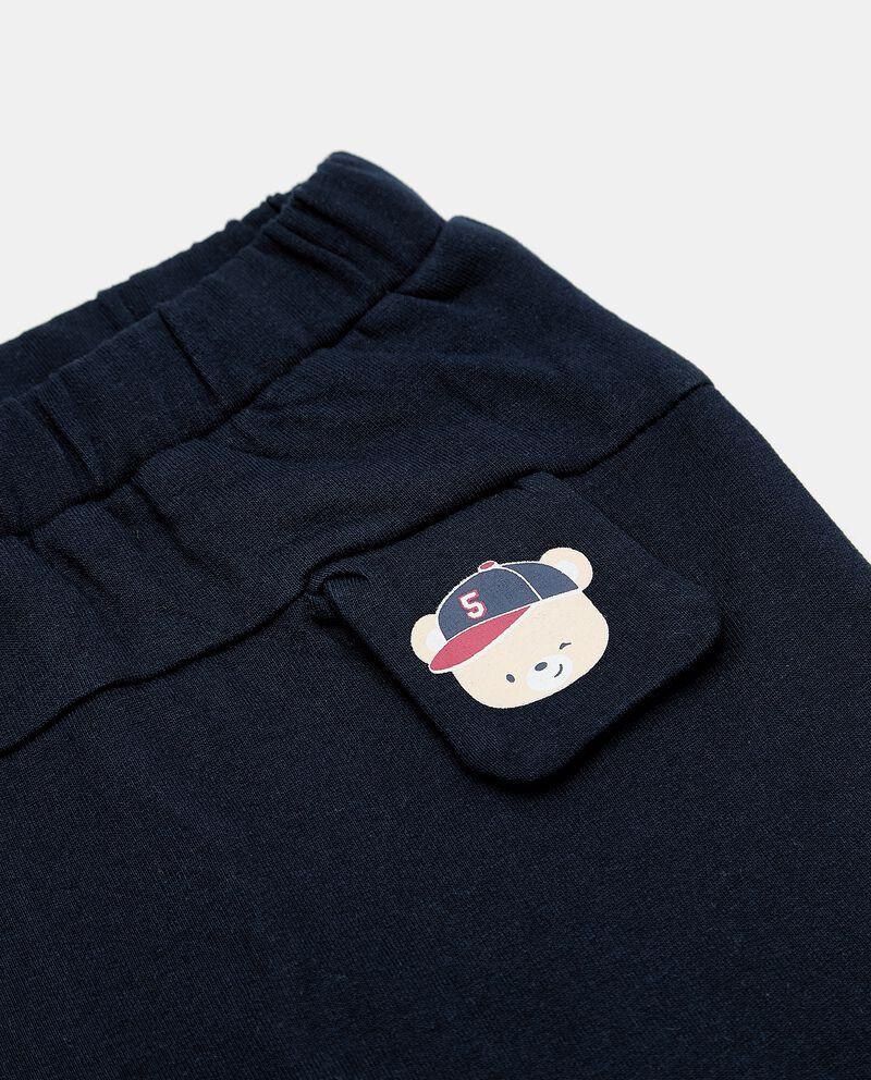 Pantaloni in felpa neonato single tile 1