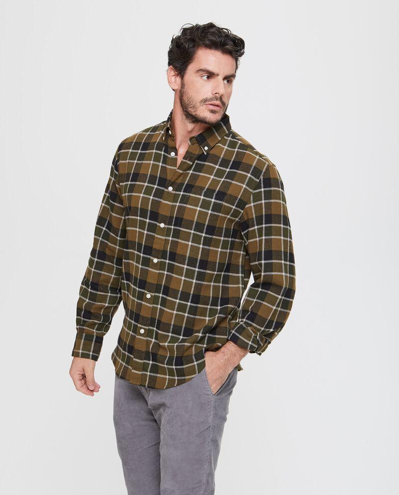 Camicia casual puro cotone a quadri