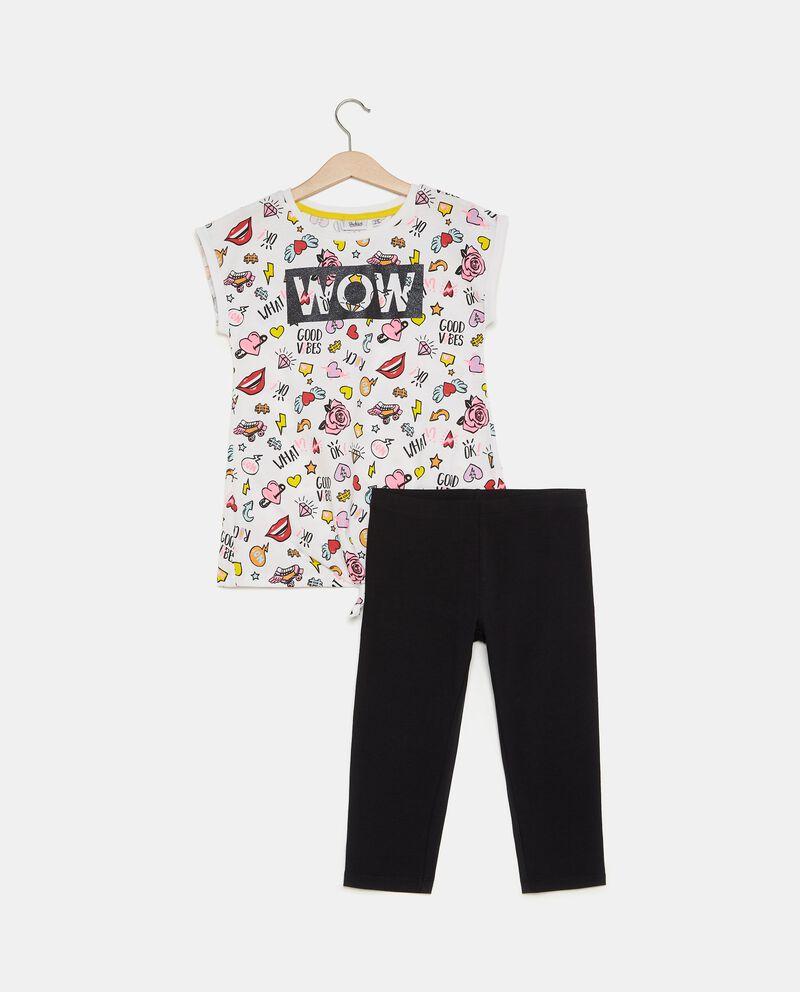 Set t-shirt e leggings ragazza