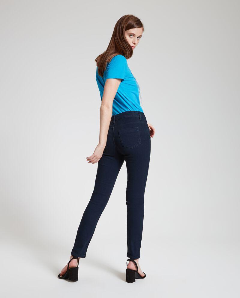 Jeans in tinta unita donna single tile 1