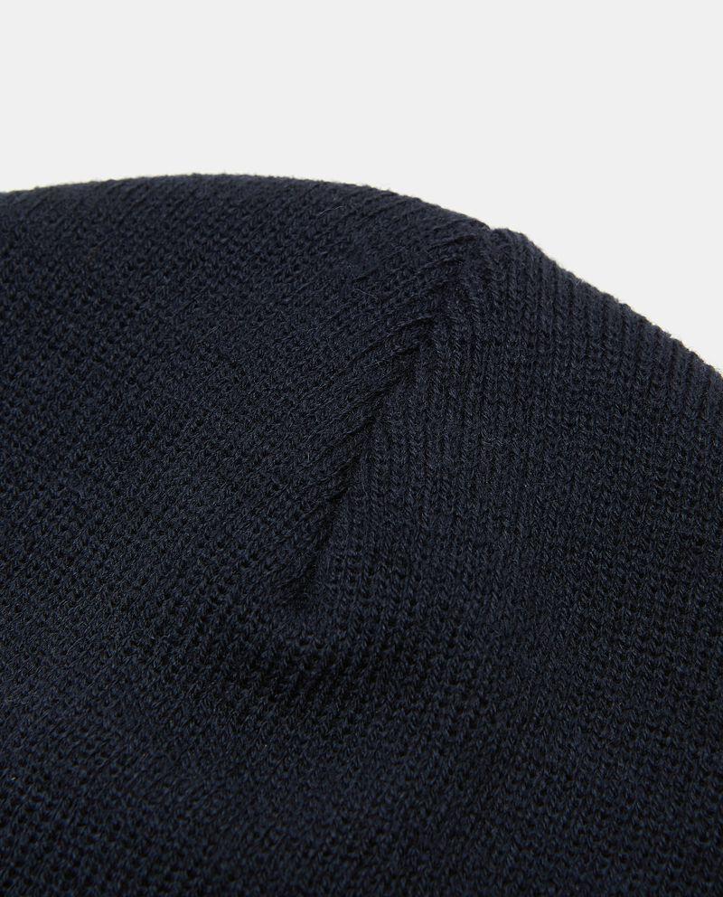 Cappello in tinta unita uomo