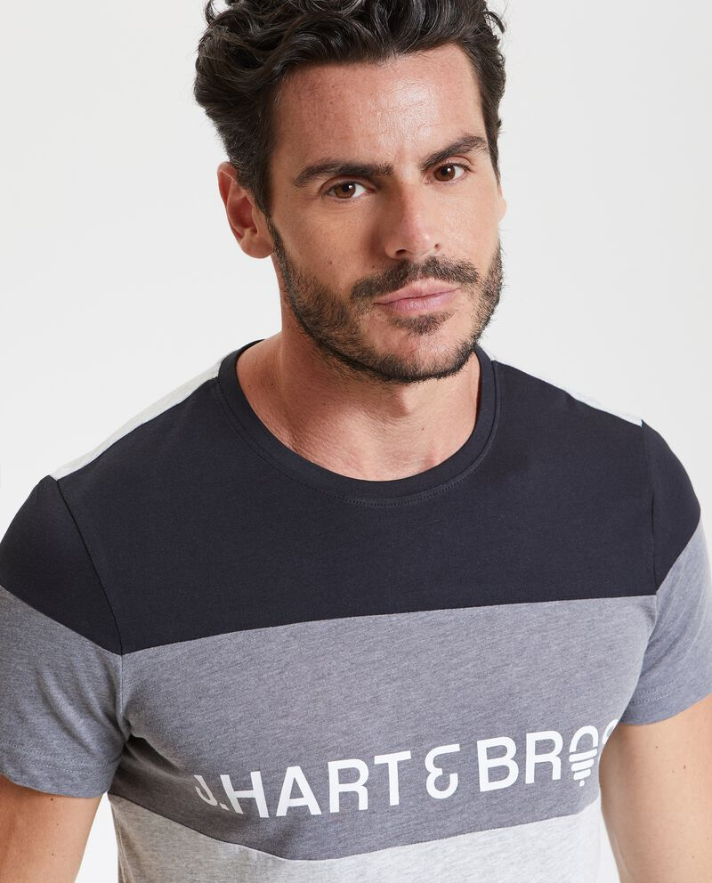 T-shirt fitness bande uomo
