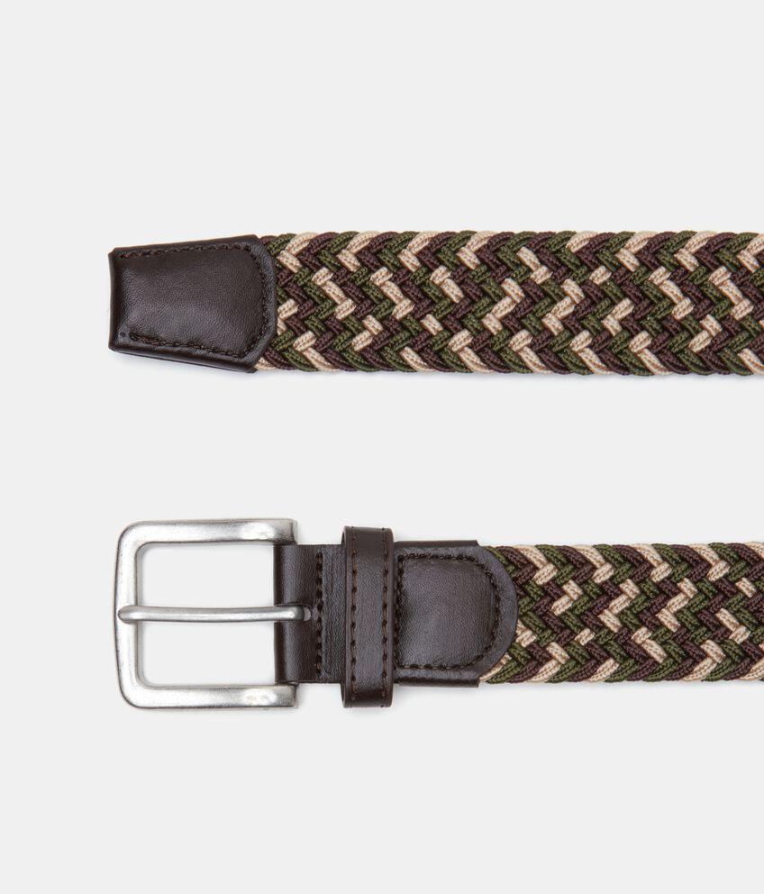 Cintura intrecciata uomo double 1