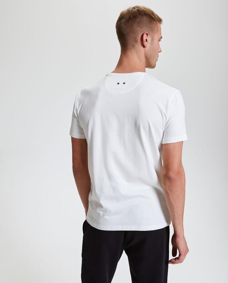 T-shirt tinta unita a maniche corte uomo