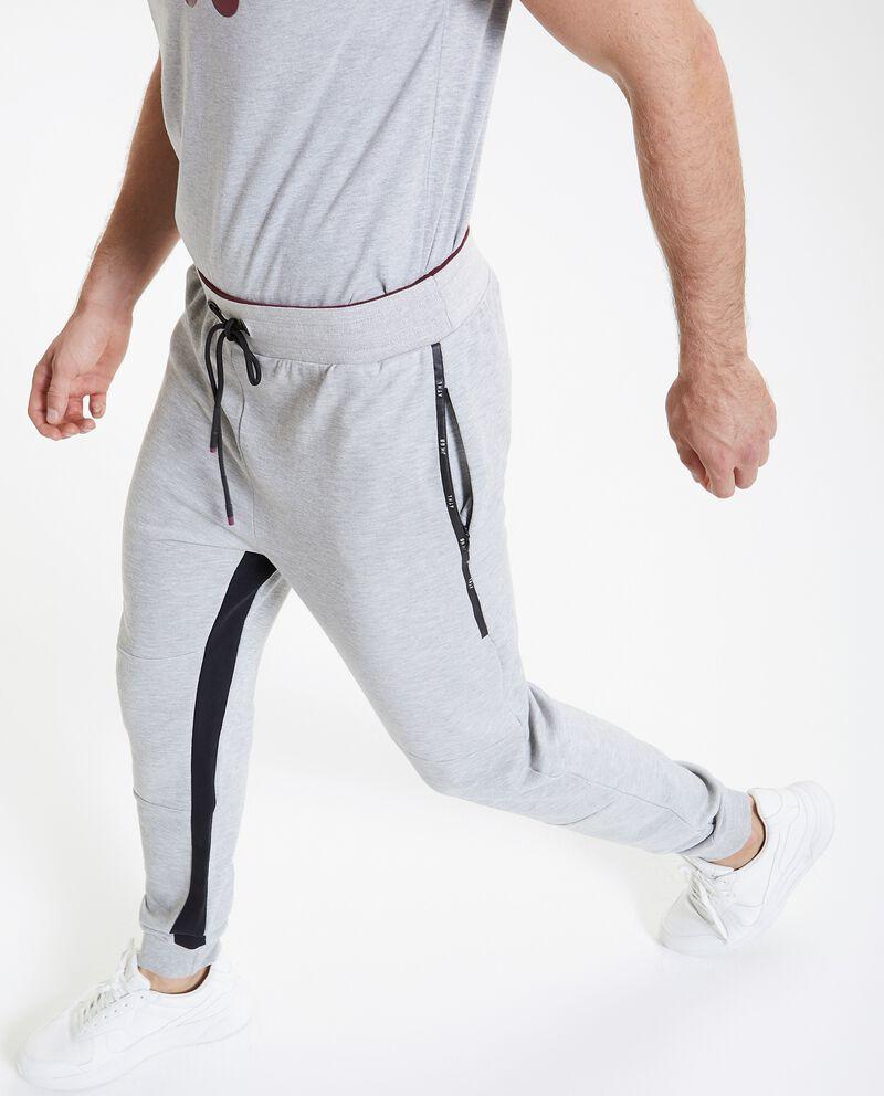 Pantaloni sportivi con bande uomo