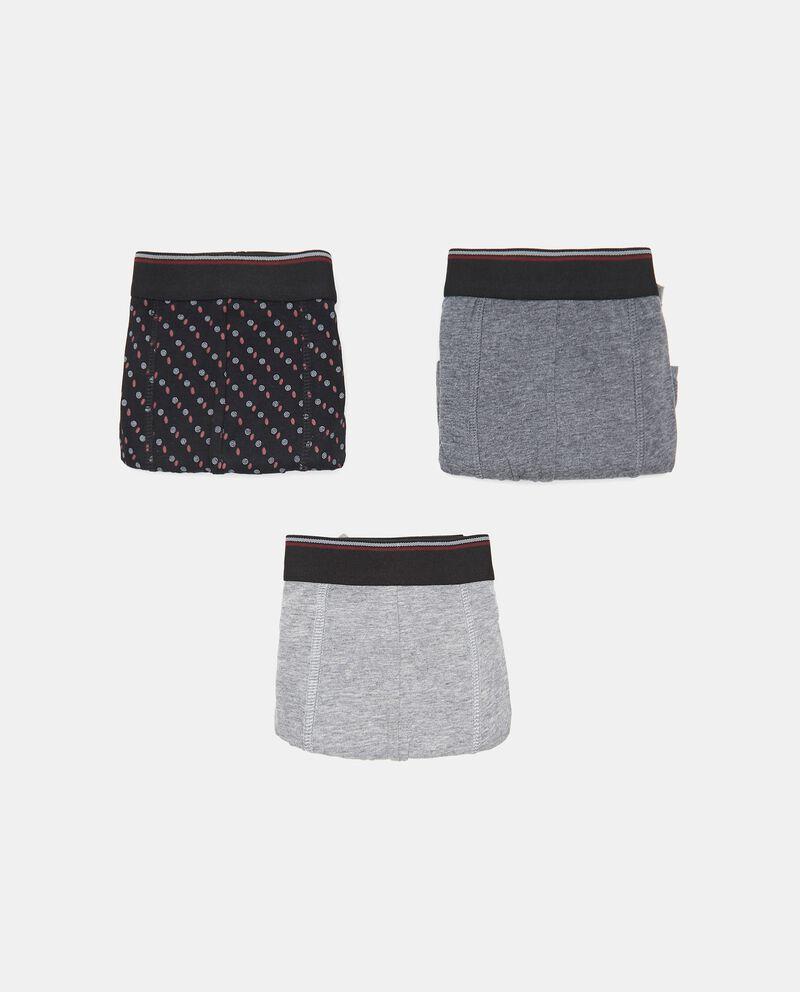 Pack con 3 boxer in cotone stretch uomo cover