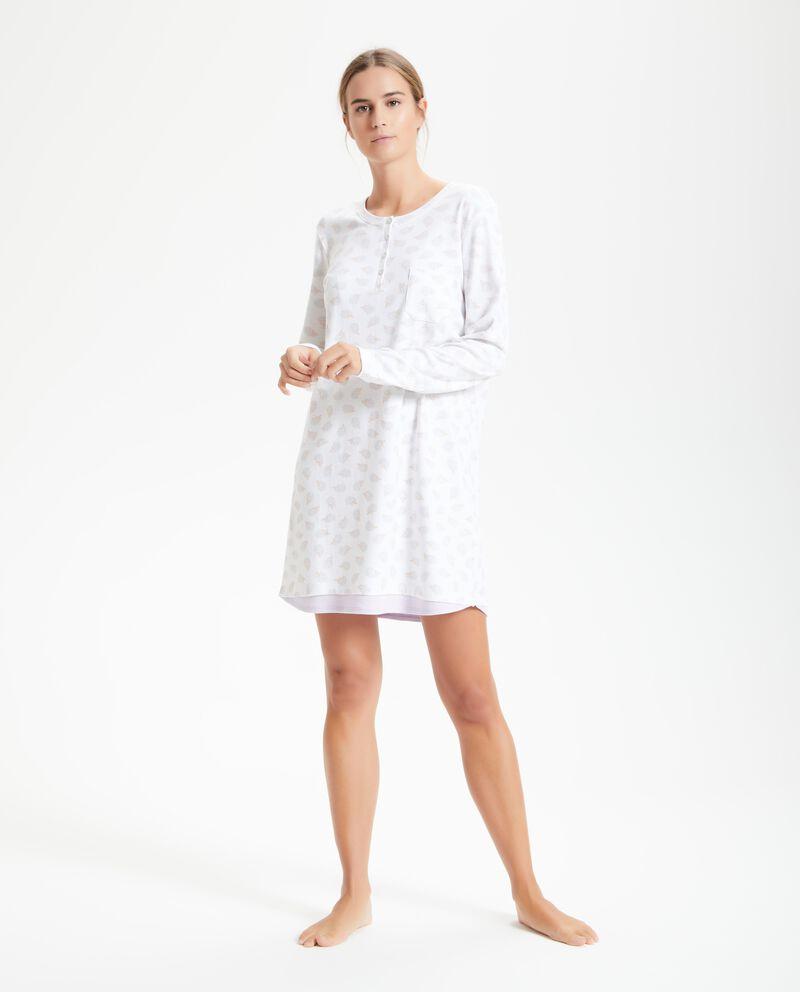 Camicia da notte in fantasia donna