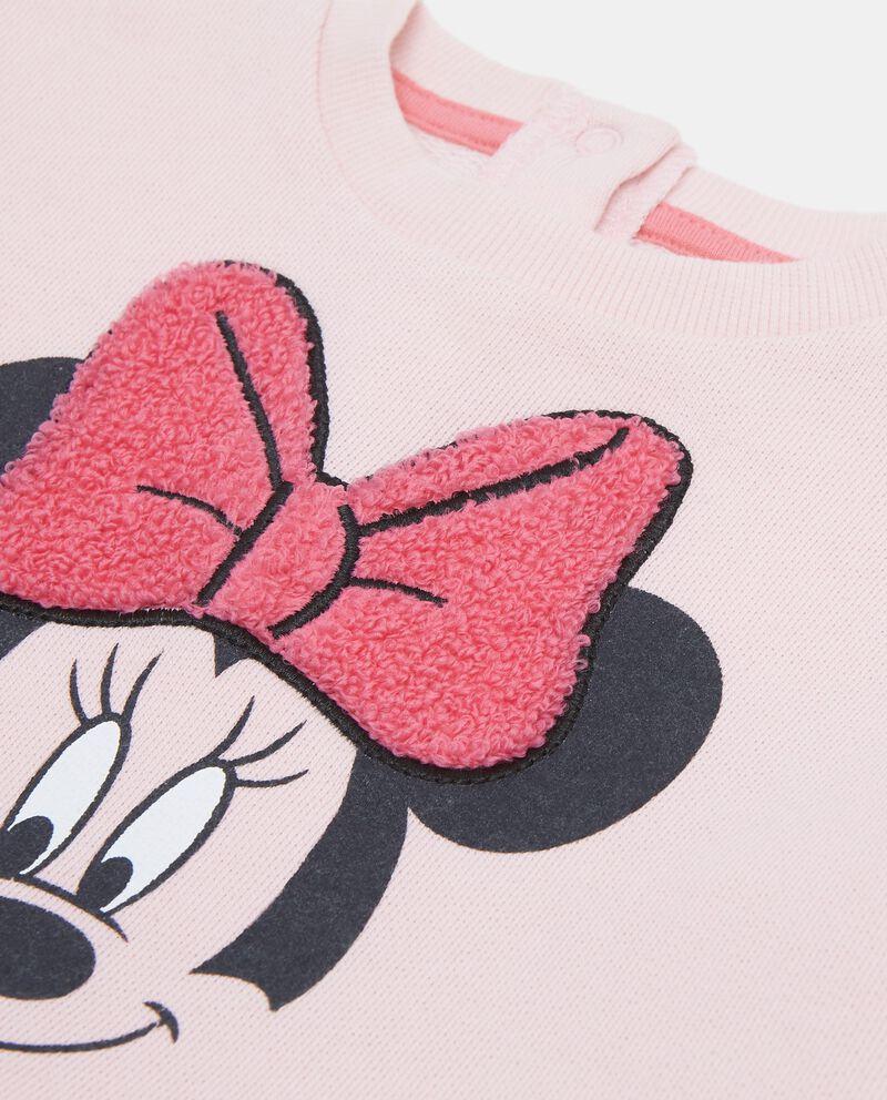 Felpa Minnie con inserto pelliccetta