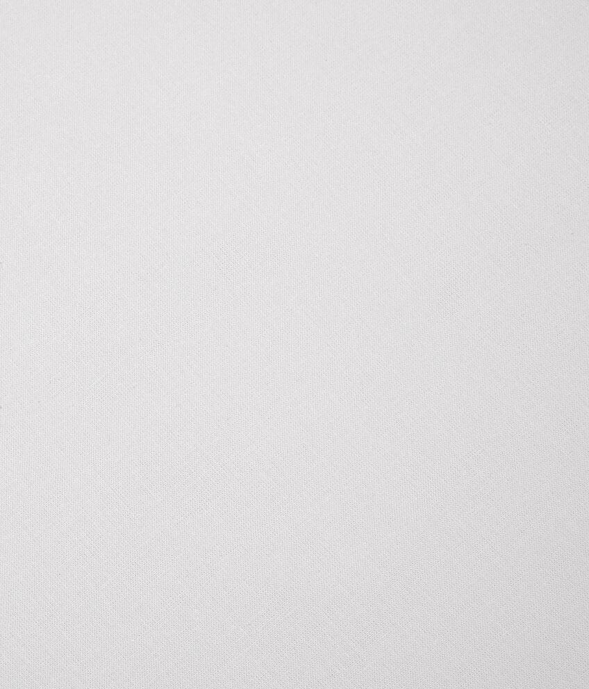 Lenzuola in puro cotone con angoli tinta unita double 2