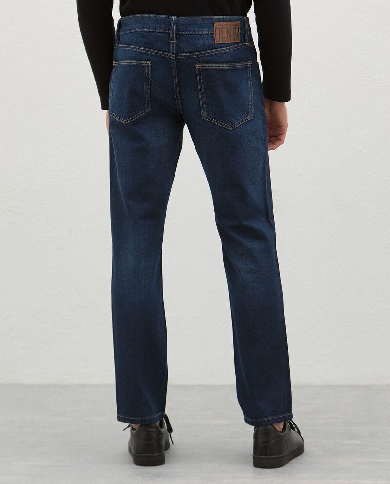 Jeans fit slim uomo single tile 1