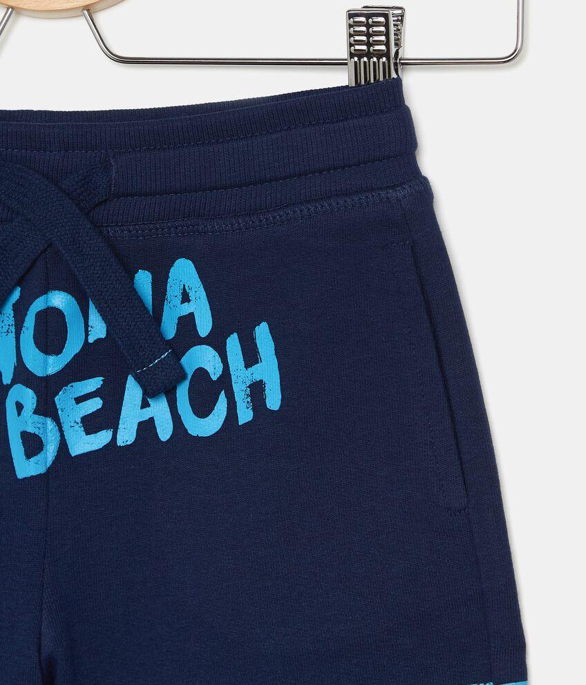 Shorts in puro cotone con stampa