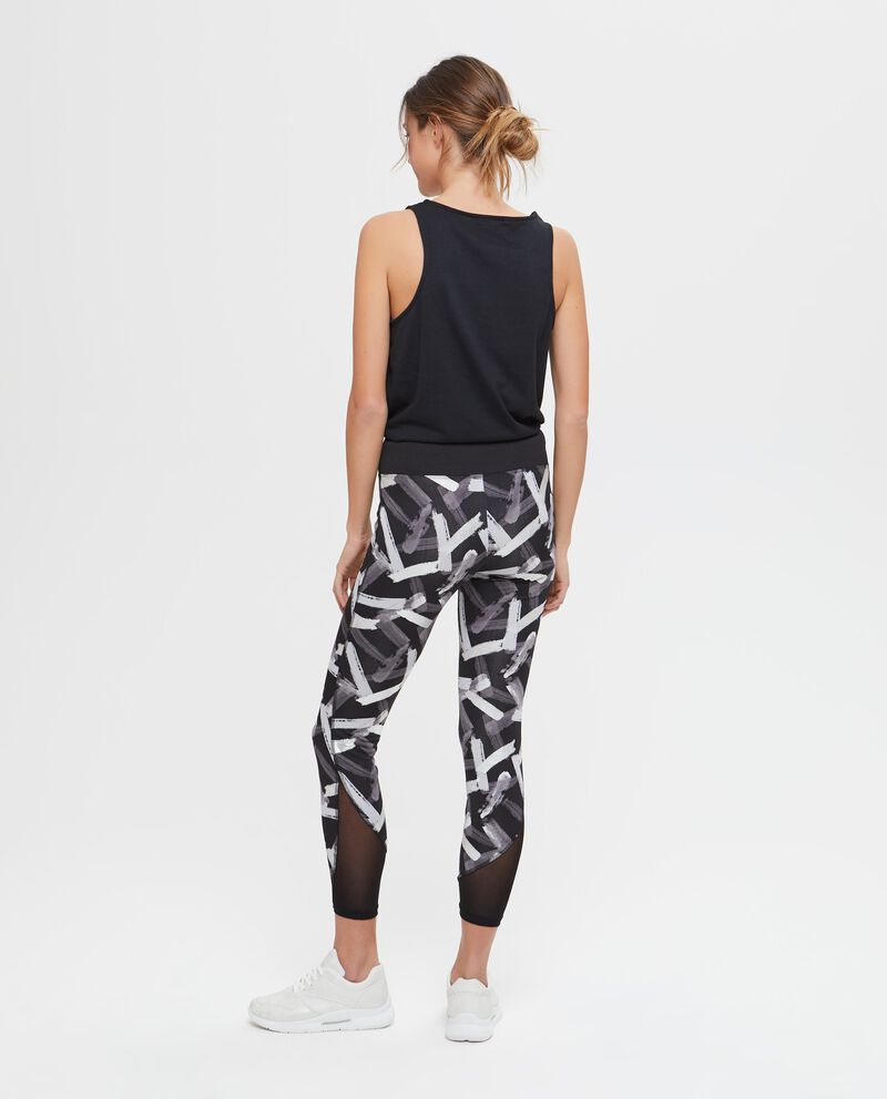 Leggings sportivi stampa all-over