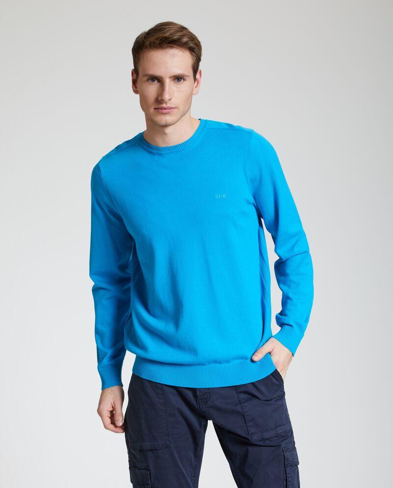 Pullover con costine uomo