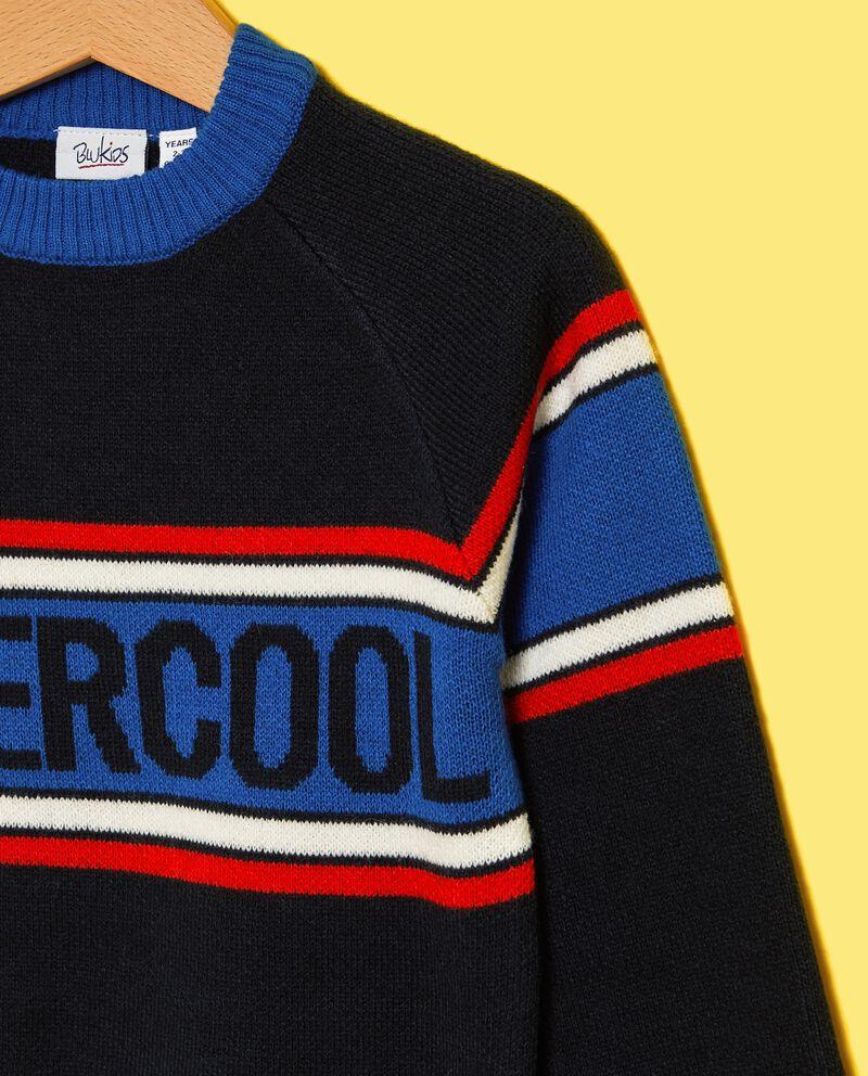 Maglione con righe colorate bambino