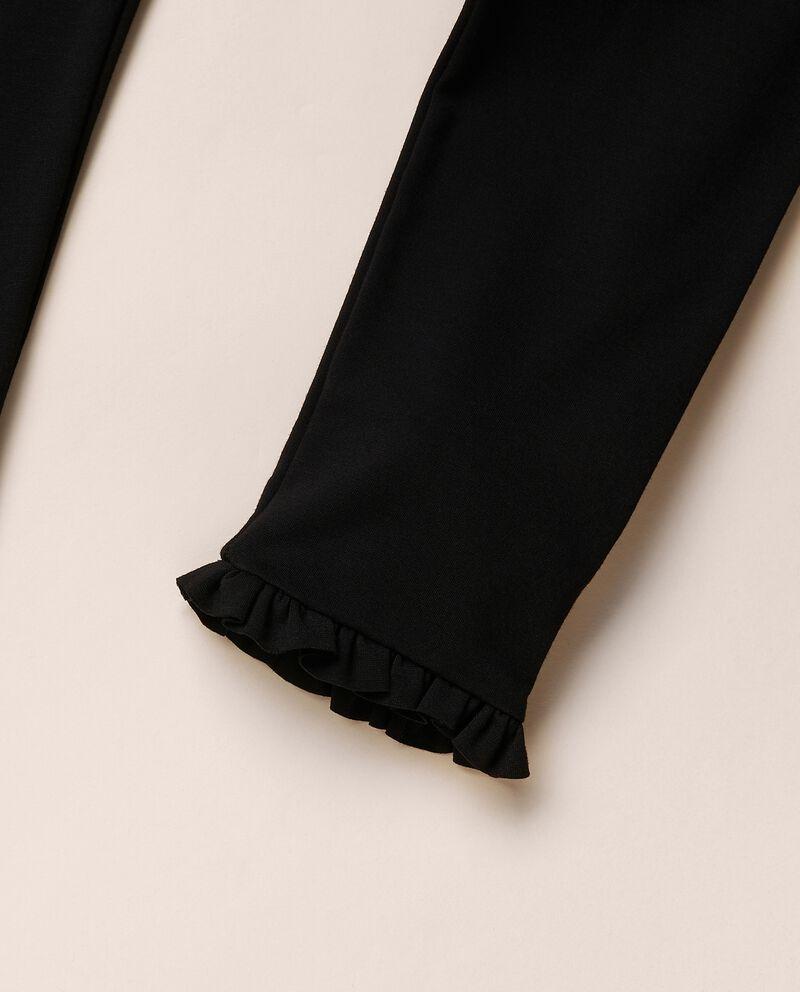 Leggings in viscosa stretch punto milano MADE IN ITALY single tile 1
