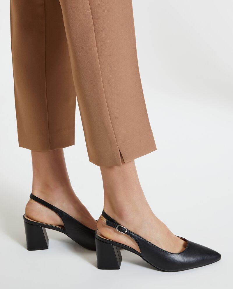 Pantaloni eleganti tinta unita donna